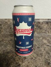 Sycamore Brewing Christmas Cookie Beer Can, Limited Run, Banned, Empty Can