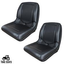 2 Seats Black John Deere Gator Seat 6x4 Cx 4x2 4x4 Hpx Trail Tx Turf Th 6x4 Te
