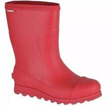 4a5762b51652 New ListingNEW SOREL JOAN SHORT RAIN BOOTS RED SIZE 7