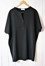 Zizzi blusa talla S (42 - 44) ❤ negro * nuevo