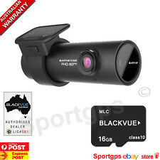Blackvue DR750S-1CH Dual FullHD 1080P Dashcam + 16GB SD Card