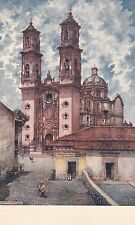 Central America Postcard - Mexico - Cathedral in Taxco. Gro. XVII Century  U1456