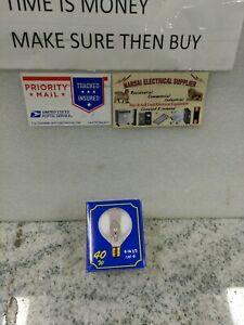 "Bulbrite 40G16CL3  40W G16 1/2""  Globe 130V Candelabra Light Bulb, Clear(13DB3"