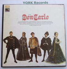 SLS 956-Verdi-Don carlo domingo/Caballe/Giulini-ex 4 Disco Lp Box Set