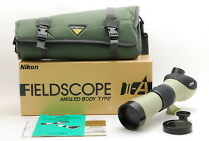 【UNUSED】 Nikon Field Scope II-A D= 60 P Angled Body Type from JAPAN C32