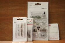 Unbranded Christmas Clear Rubber Stamps