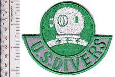 SCUBA Hard Hat Diving US Divers Commercial Diving Equipment Division gre grn