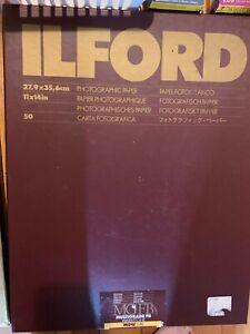 Ilford photographic paper multigrade FB Warmtone 11x14 in