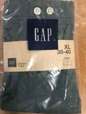 New superb quality Gap boxer shorts underwear 100% cotton green men's XL 38-40