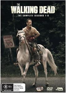The Walking Dead The Complete Season 1 2 3 4 5 6 7 8 9 DVD Box Set 1 - 9 R4