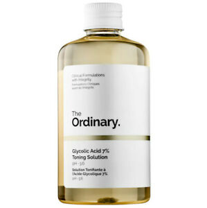 The Ordinary Glycolic Acid 7% Toning Resurfacing Solution 8 oz/ 240 mL Safe Skin