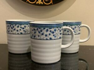 Mikasa Porcelain Susanne Mugs Set of 3