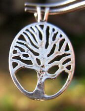 SOLID Sterling Silver TREE OF LIFE Pendant Celtic GODDESS Jewelry STAMPED .925