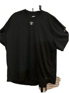 nfl equipment reebok 3XL Black short sleeve New Orleans Saints shirt