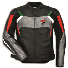 Ducati Corse C3 Leather Jacket by Dainese Black Size Euro 50 (Perforated)