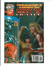 CYBERNETIC DAWN # 4 (Malibu Comics, FEB 1996), FN+