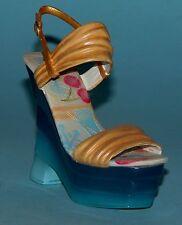 "Just the Right Shoe, Raine, ""Double Trouble"" mixed media miniature # 25491 Coa"