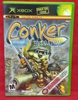 Conker Live & Reloaded Orig. Microsoft Xbox Game Complete 1 Owner Tested Nice!