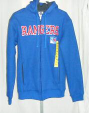 NHL New York Rangers Hoodie Jacket Sweatshirt Sweat Shirt Size Small