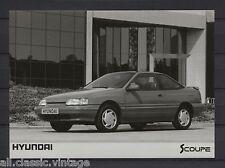 PRESS - FOTO/PHOTO/PICTURE - Hyundai Scoupe