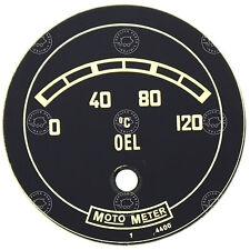 Porsche 356 Pre A 1950 - 1952 MOTO METER oil gauge dial concours quality replica