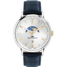 Orologio Uomo PHILIP WATCH TRUMAN R8251595001 Pelle Blu Silver Gold SWISS MADE