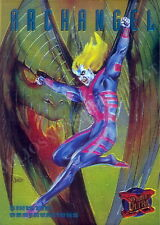 X-MEN 1995 FLEER ULTRA SINISTER OBSERVATIONS INSERT CARD 1 OF 10 ARCHANGEL MA