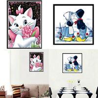 DIY 5D Diamond Embroidery Painting Cross Stitch Kit Craft Animal Home Decor