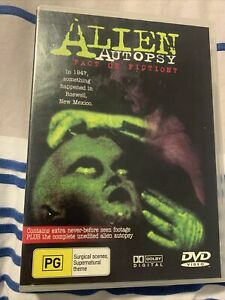 Alien Autopsy - Fact Or Fiction - Brand New & Sealed - Region 0 - DVD- Free Post
