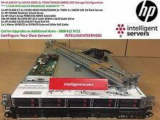 HP DL360 G7 2x X5550 48GB 2x 750W MSA50 600GB SSD Storage Configuration