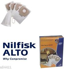 Sac aspirateur Nilfisk ALTO 302002403 Buddy 15 sachet de 4 +1 filtre eau