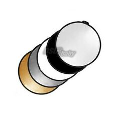 """round shape 43"""" 5-in-1 light Mulit Collapsible disc photography reflector 110cm"""