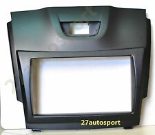 ISUZU ALL NEW DMAX D-MAX 2012+ 2 TWO DIN AUDIO SCREEN CONSOLE MARK COVER