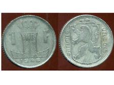 BELGIQUE 1 franc 1946 ZINC  ( belgie belgique)