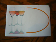 30  Wine Bottle Labels for Home Made Wine (self adhesive)