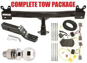 2008-2010 VOLVO V70 WAGON COMPLETE TRAILER HITCH RECEIVER TOW PACKAGE ~ NO DRILL