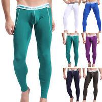NEW Winter Mens Tight Leggings WARM Long Johns Thermal Underwear Pants Sleepwear
