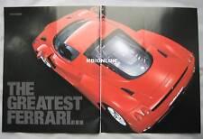 2002 Ferrari Enzo Car magazine Original test