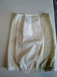 Vintage Panty Puckers white girdle without garters size 31/32