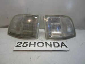 1991-1995 Acura Legend 4 Door Sedan Aftermarket Clear Corner Lights KA7 Rare