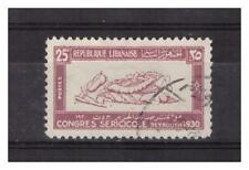 GRAND  LIBAN  N° 127.  25 Pi  OBLITERE    .SUPERBE .