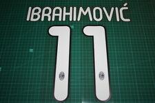 AC Milan 11/12 #11 IBRAHIMOVIC Homekit / 3rd Awaykit Nameset Printing
