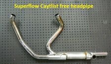 SUPERFLOW Non  Catalyst Harley header pipe 2010-2016  Roadking, Touring