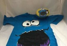 New - Cookie Monster T-Shirt Tins - Bioworld - S
