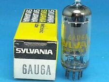 SYLVANIA 6AU6 A VACUUM TUBE SUPER SWEET SINGLE NOS NIB ORIGINAL BOX