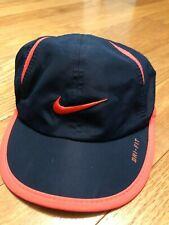 Orange /& Blue Tiger Striped Detroit Fleece Hat D Design Fits baby thru adults