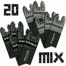 20 Oscillating Multitool Saw Blades Fits Fein Multimaster Ridgid Multi Max Ryobi