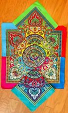 "12 (Dozen) Mosaic Multi Color 100% Cotton Bandana 22""x22"" Bandanna"