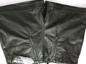 Bockle® Pants kurze schwarz Gay CSD Herren Lederhose Oktoberfest Shorts Sexy 42