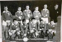 Benfica Lissabon + Europapokal Landesmeister Winner 1962 Fan Big Card Edit. A115
